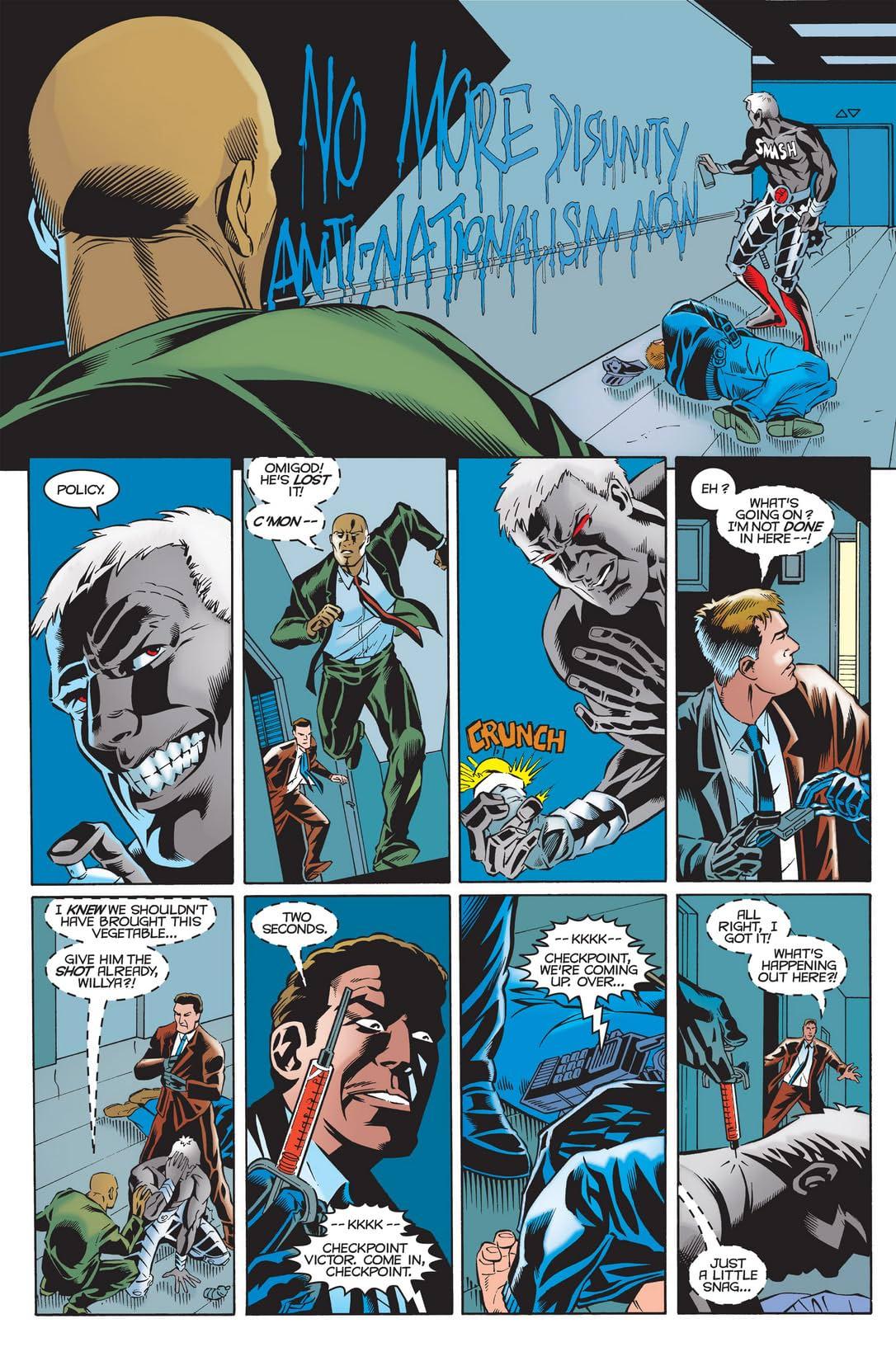 Captain America Annual 1999