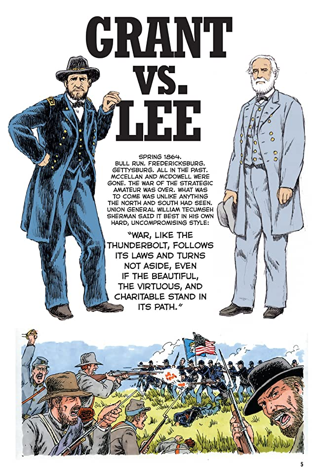 click for super-sized previews of Grant vs. Lee: The Graphic History of the Civil War's Greatest Rivals During the Last Year of the War