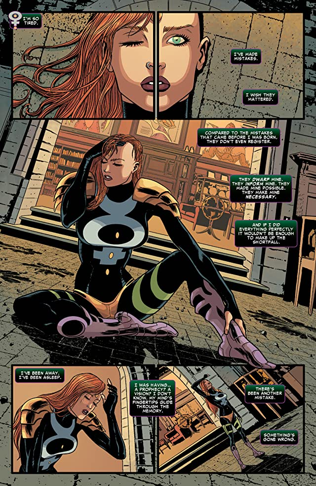 click for super-sized previews of Revolutionary War: Dark Angel #1