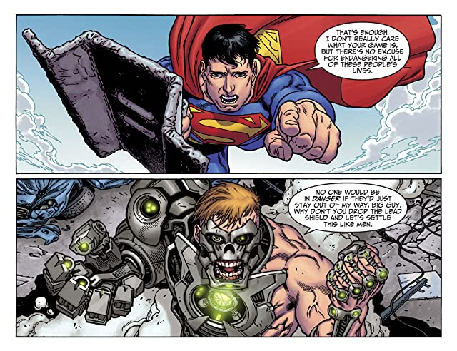 click for super-sized previews of Adventures of Superman (2013-2014) #37