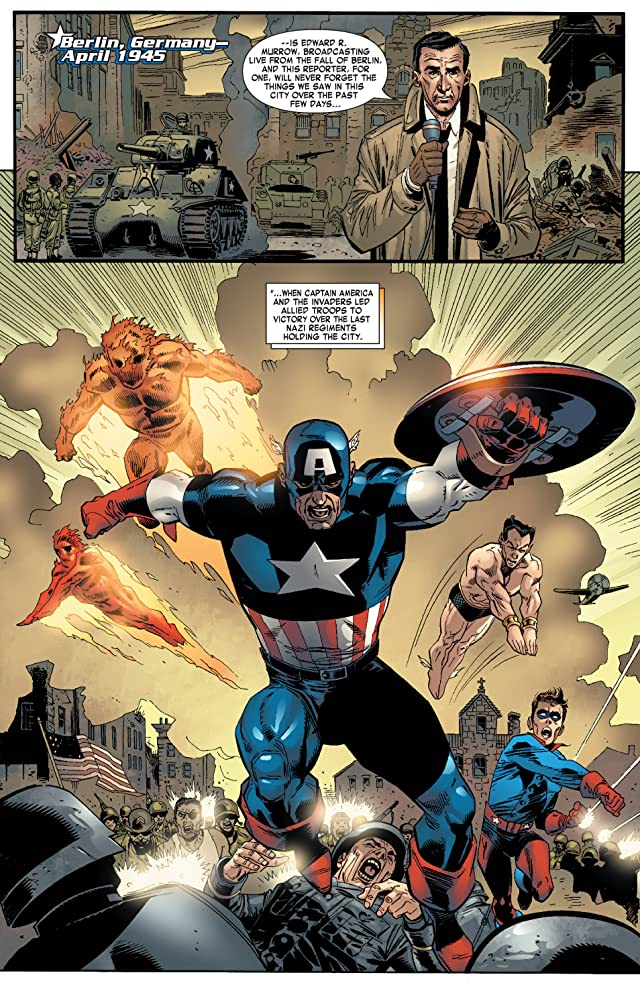 click for super-sized previews of Captain America (2004-2011) #10