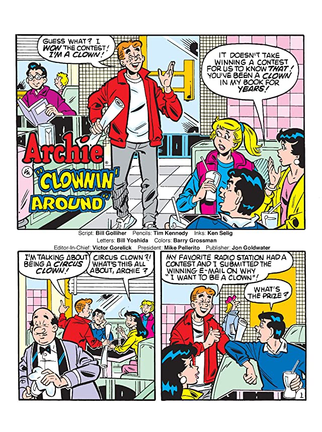 click for super-sized previews of World of Archie Double Digest #36