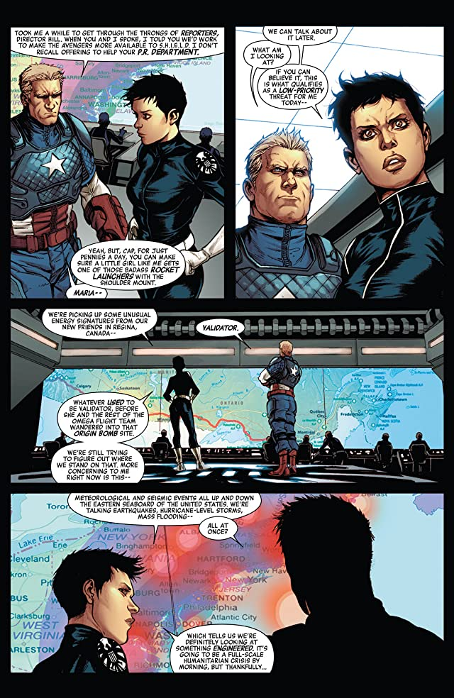 click for super-sized previews of Avengers World (2014-) #1