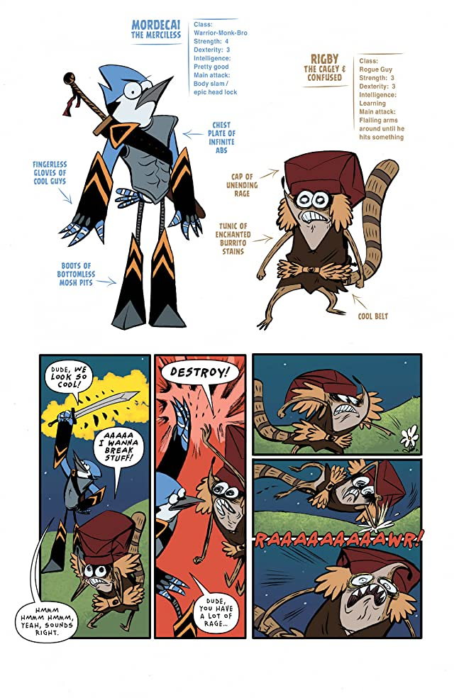 click for super-sized previews of Regular Show #8