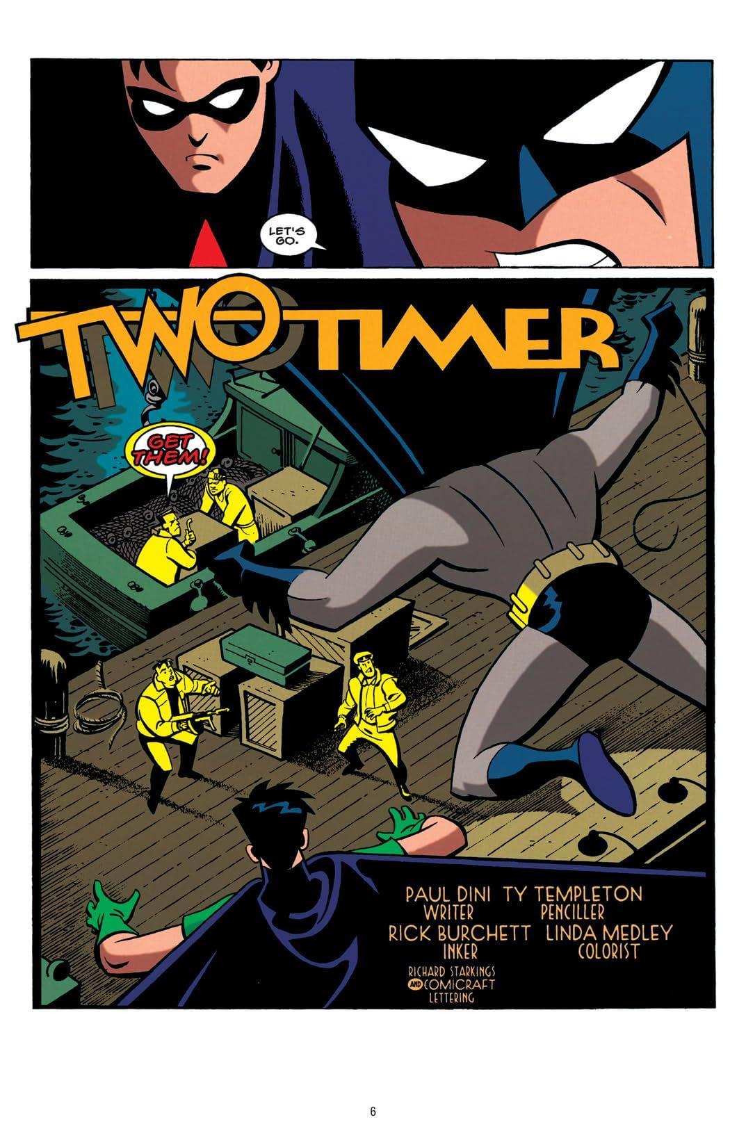 Batman & Robin Adventures (1995-1997) Vol. 1