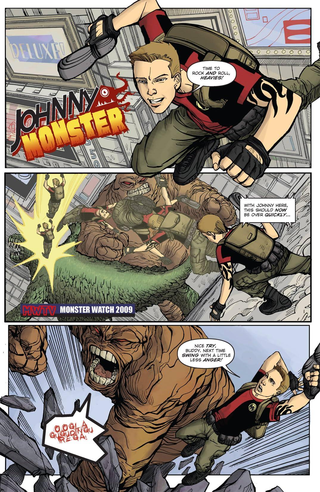 Johnny Monster #1 (of 3)