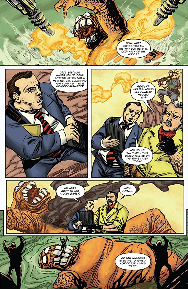 click for super-sized previews of Johnny Monster #2