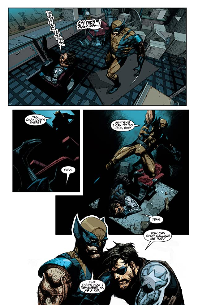 click for super-sized previews of Fallen Son: Death of Captain America #1: Wolverine