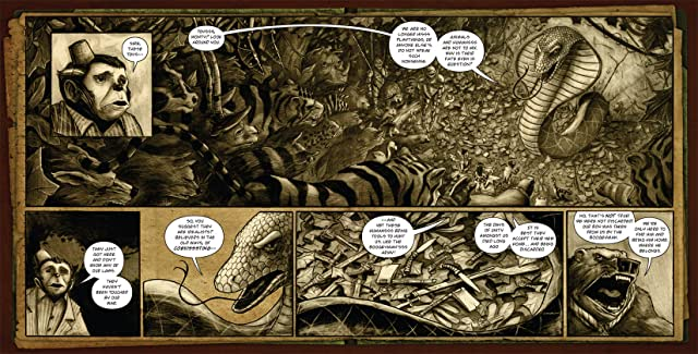 click for super-sized previews of The Stuff of Legend Vol. 2 - The Jungle #3 (of 4)