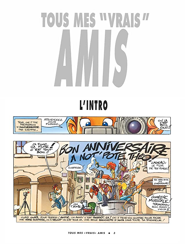 click for super-sized previews of Tous mes vrais amis