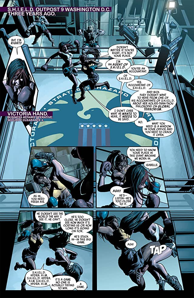 click for super-sized previews of Dark Avengers #11