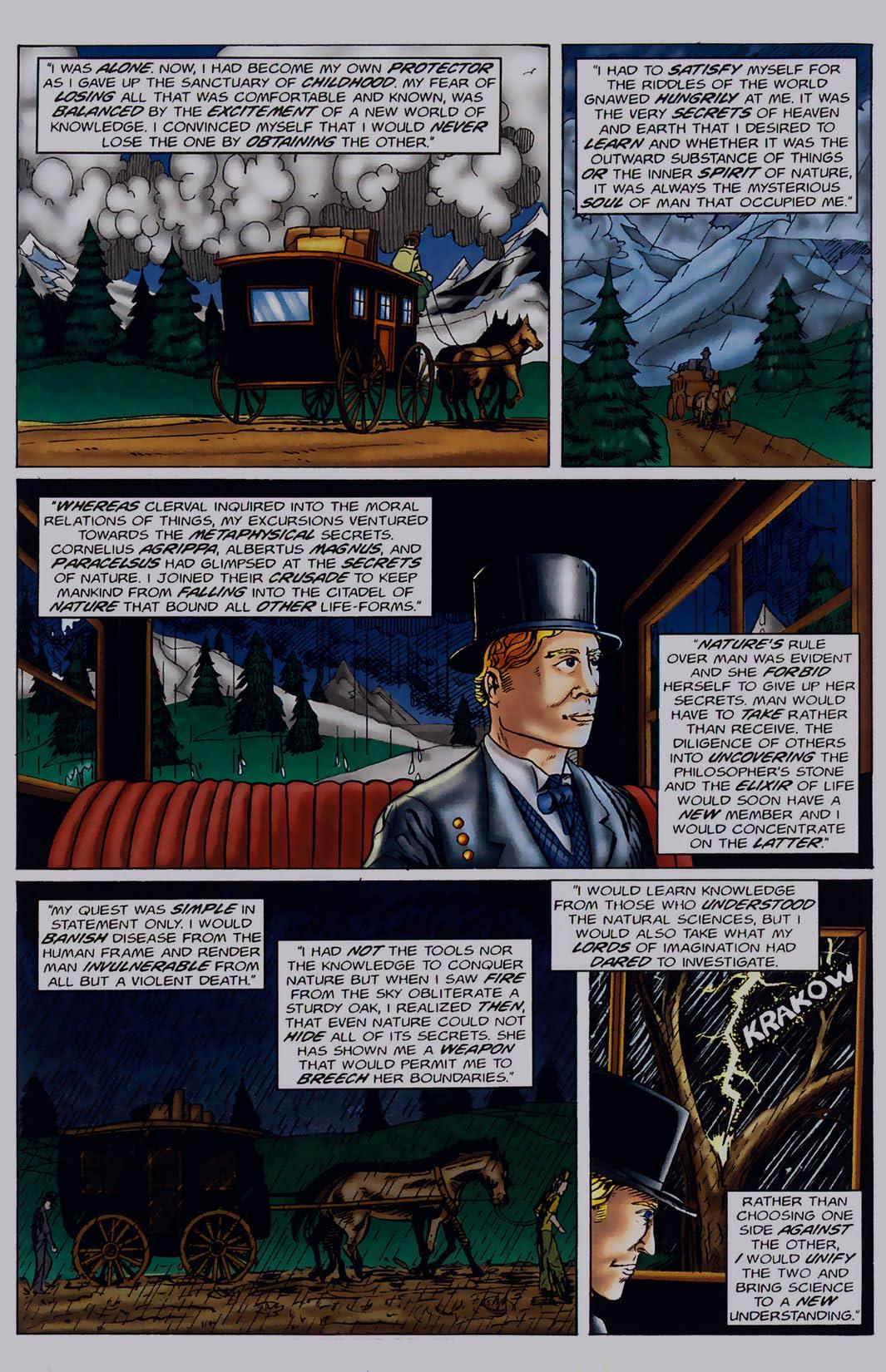 Frankenstein: Or the Modern Prometheus #1