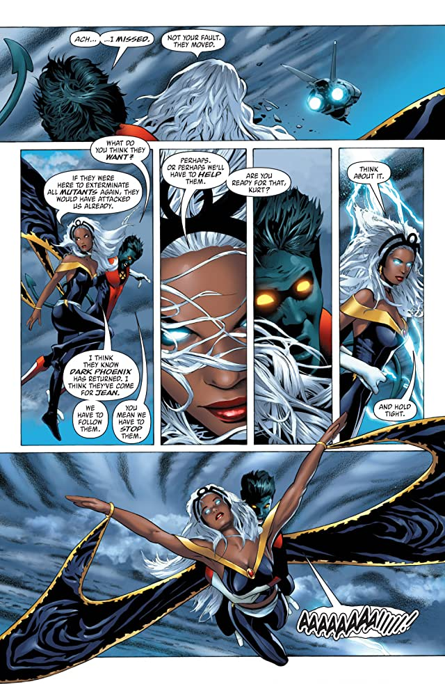click for super-sized previews of X-Men: Phoenix Endsong #3
