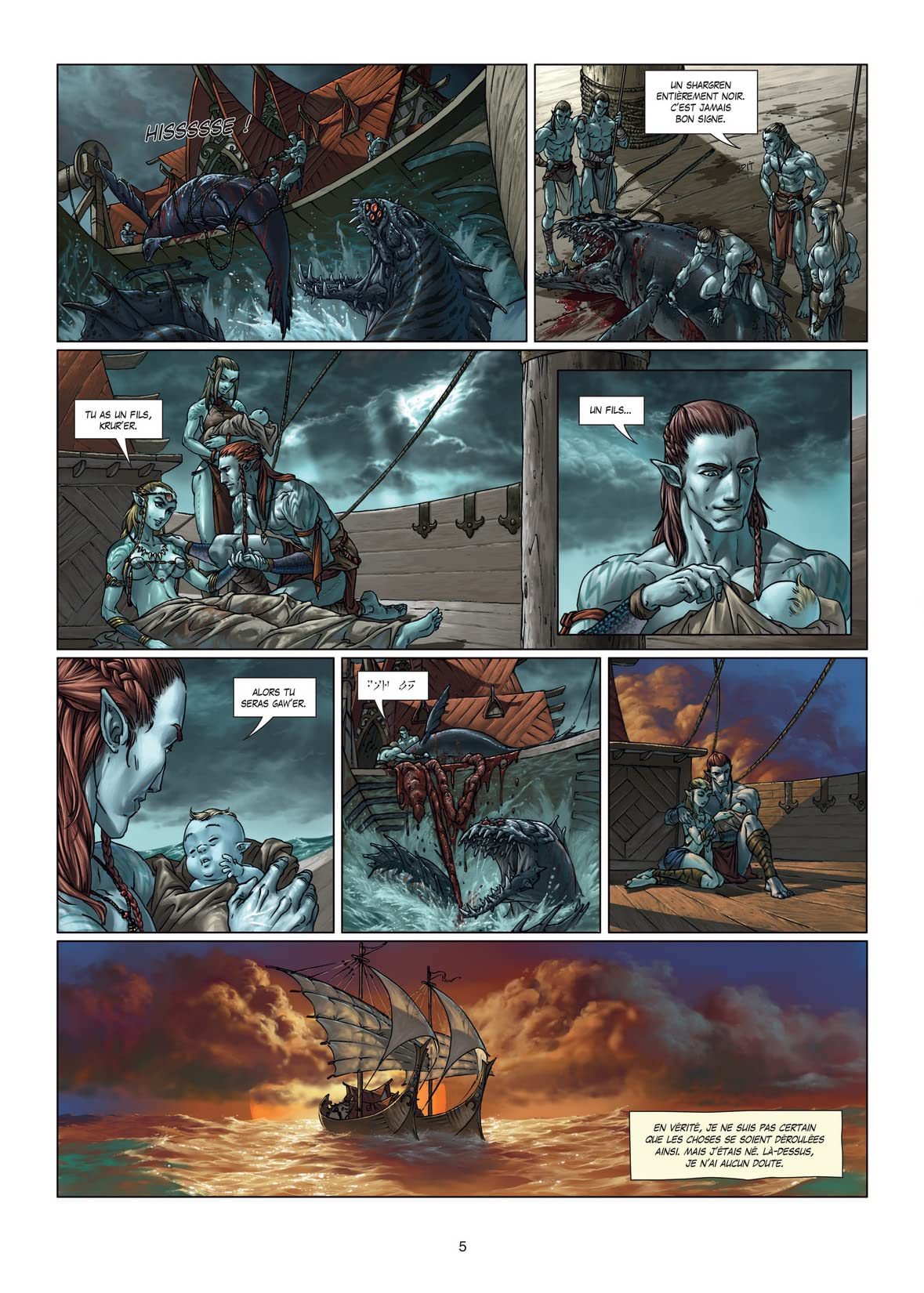 Elfes Vol. 5: La dynastie des elfes noirs
