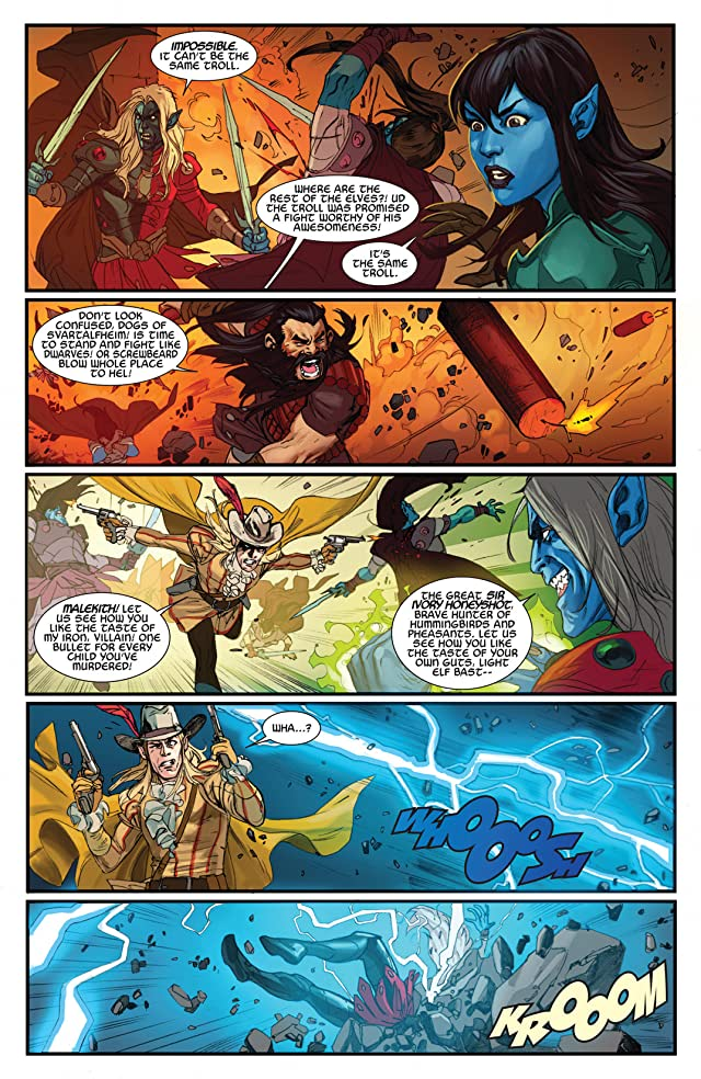click for super-sized previews of Thor: God of Thunder #17