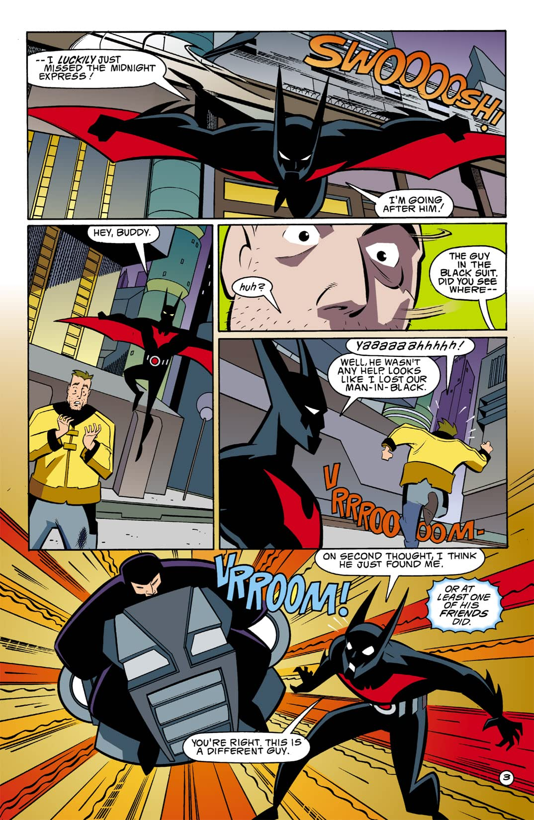 Batman Beyond (1999-2001) #2