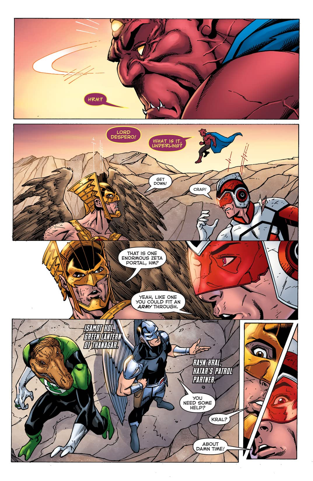 Death of Hawkman (2016-) #4