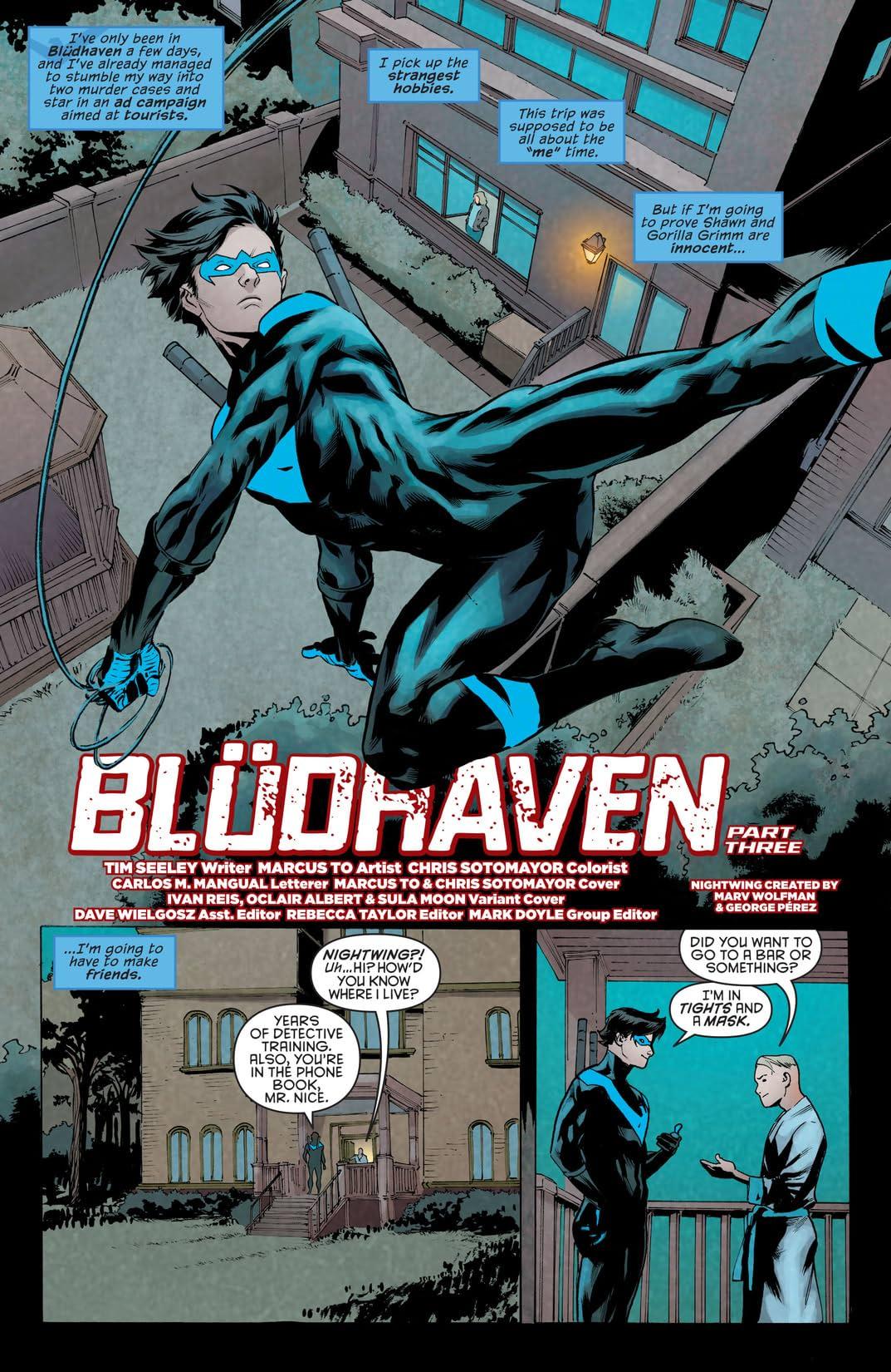 Nightwing (2016-) #12