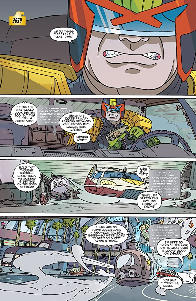 click for super-sized previews of Judge Dredd: Mega-City Two #1 (of 5)