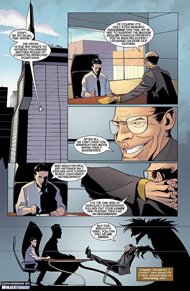Batman: Streets of Gotham #4