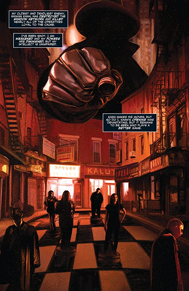 click for super-sized previews of The Shadow Now #4: Digital Exclusives Edition