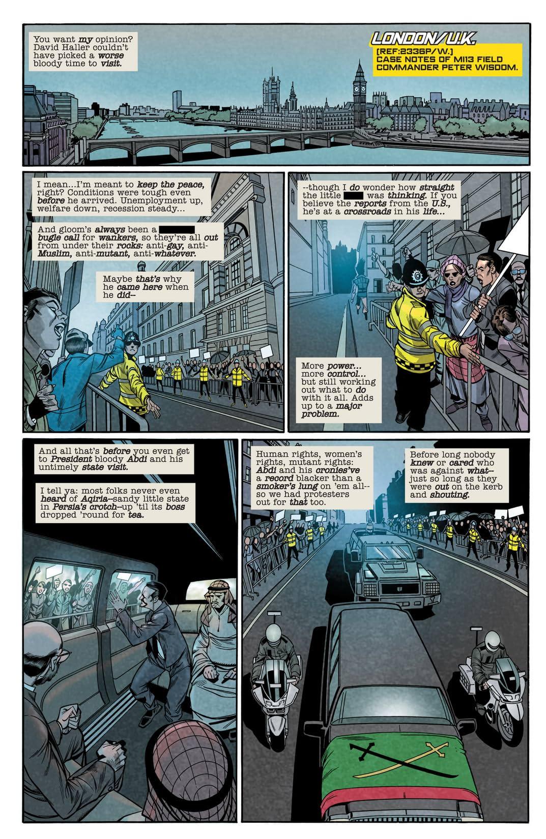 X-Men Legacy: Legion Vol. 3: Revenants
