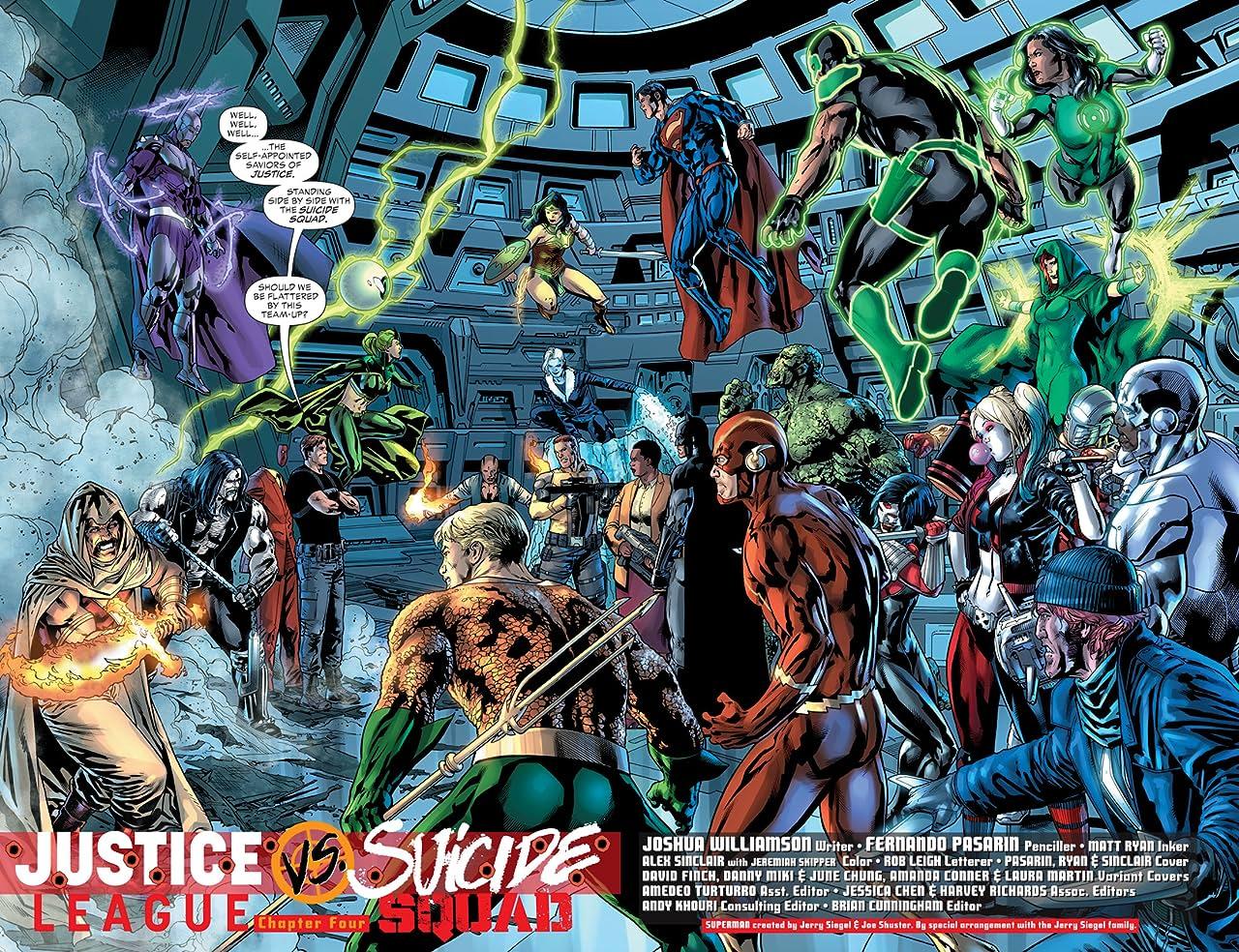 Justice League vs. Suicide Squad (2016-) #4