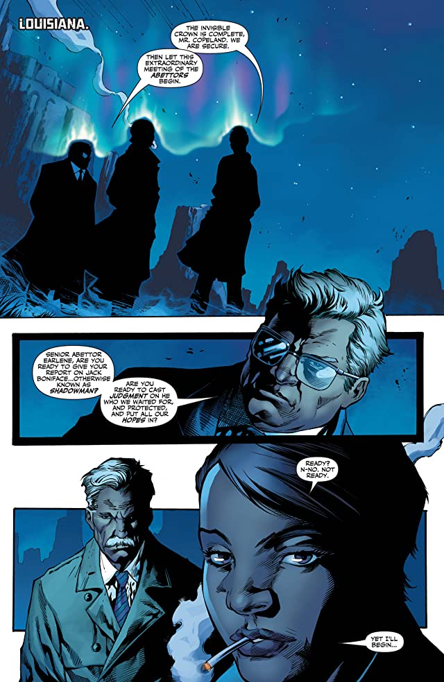 click for super-sized previews of Shadowman (2012- ) #13X