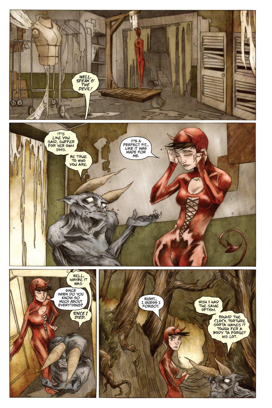 Strange Girl #13
