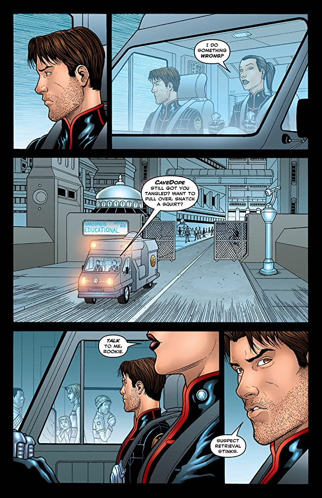 click for super-sized previews of Narcopolis #4