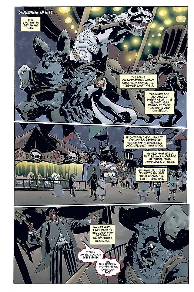click for super-sized previews of Strange Girl #14