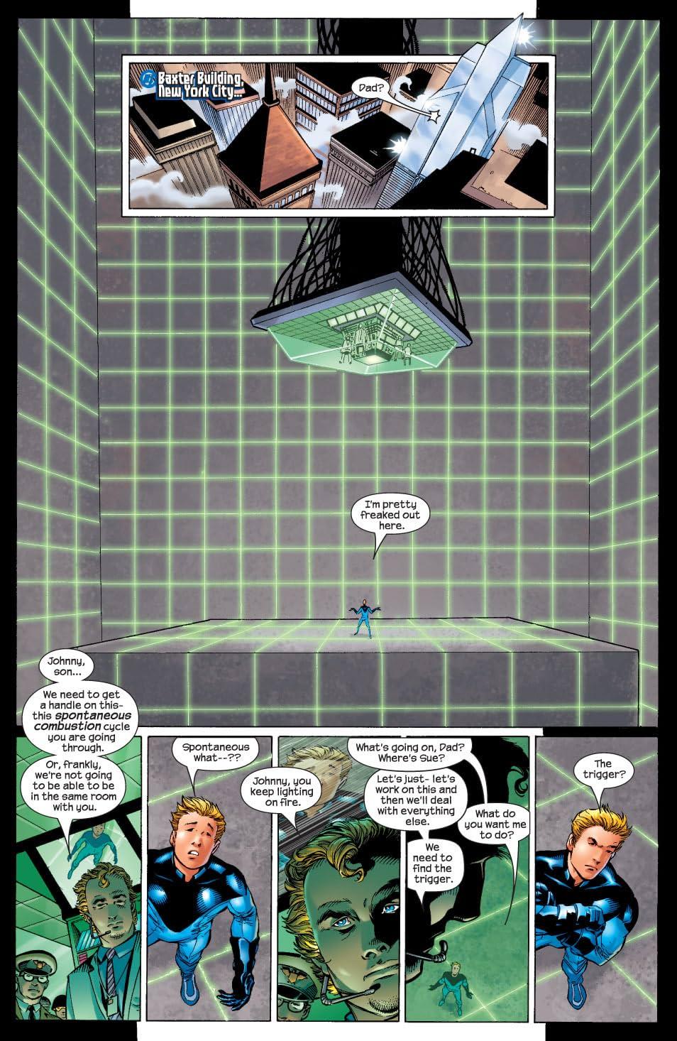 Ultimate Fantastic Four #4