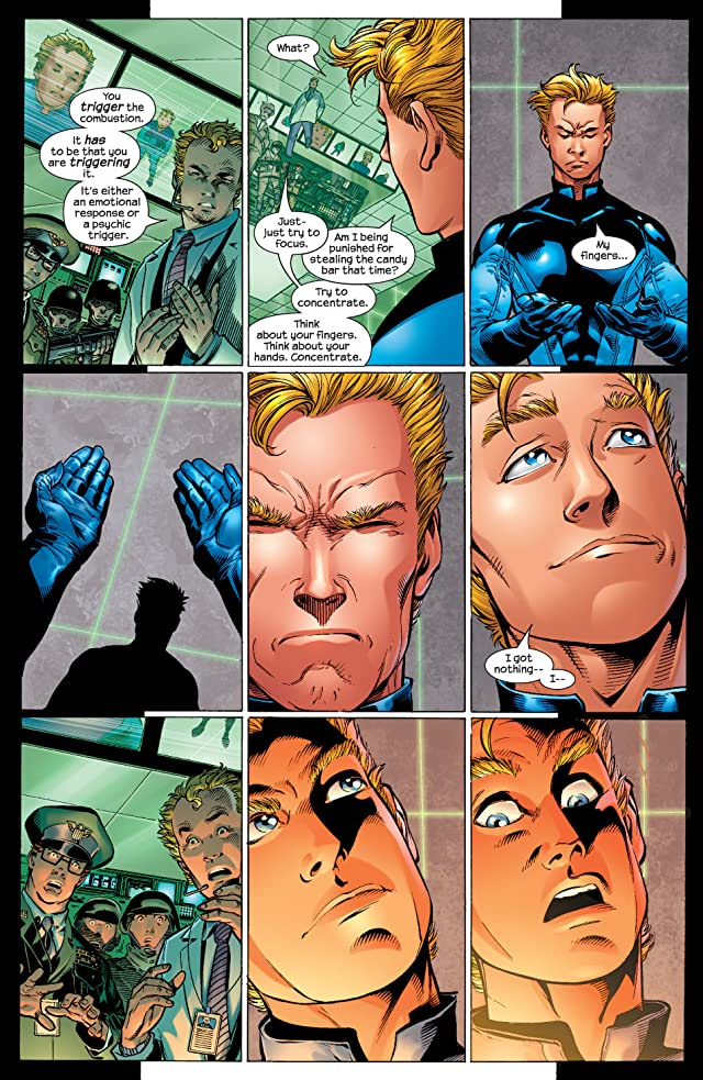 click for super-sized previews of Ultimate Fantastic Four #4