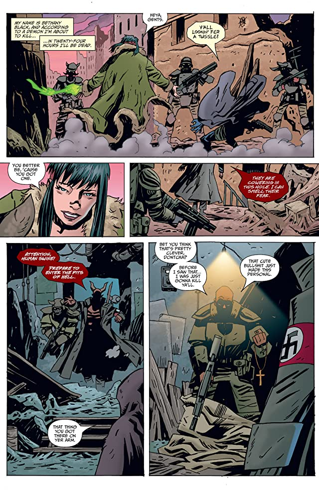 click for super-sized previews of Strange Girl #16