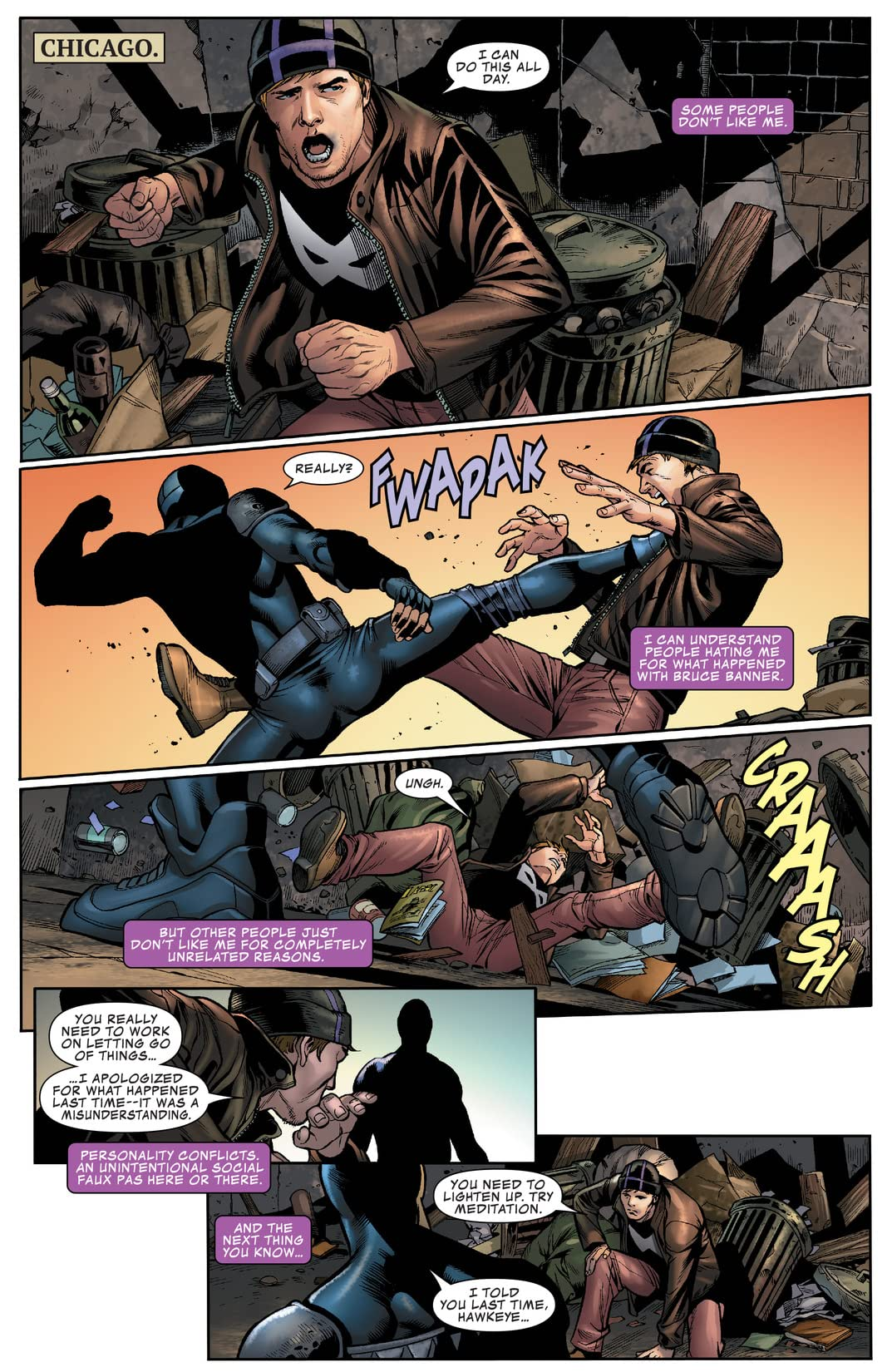 Occupy Avengers (2016-) #3