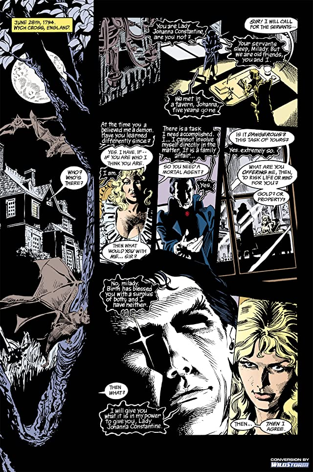 click for super-sized previews of The Sandman #29