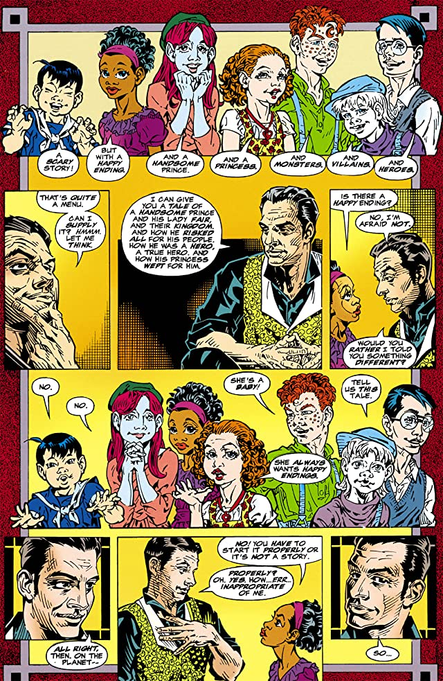 click for super-sized previews of Starman (1994-2001) #1: Annual