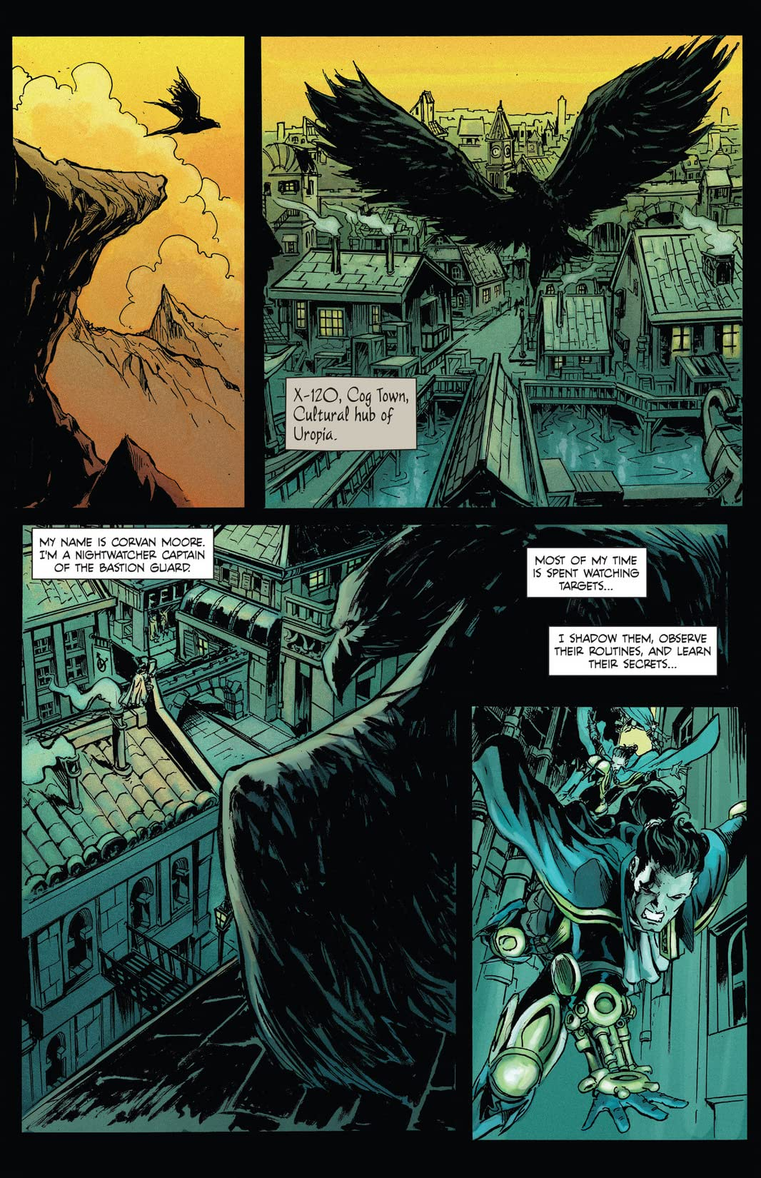 Raven Nevermore #1