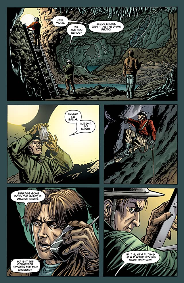 click for super-sized previews of Gravel: Combat Magician #0