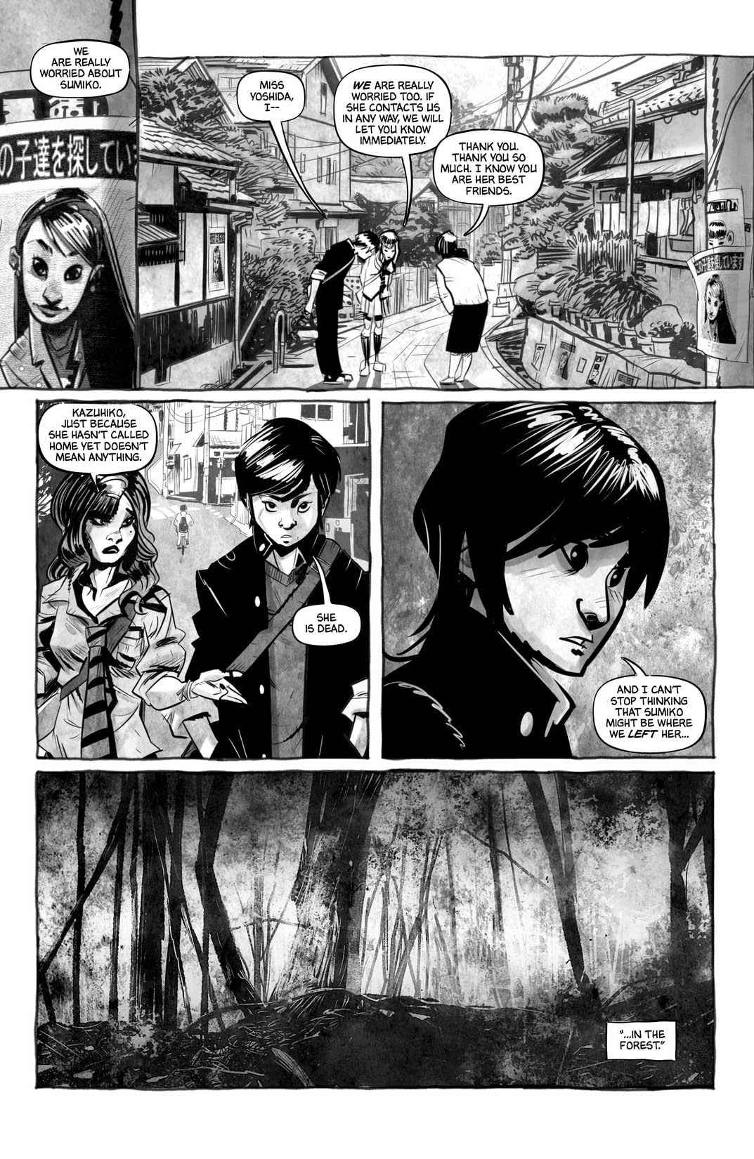 Tales from The Suicide Forest #1