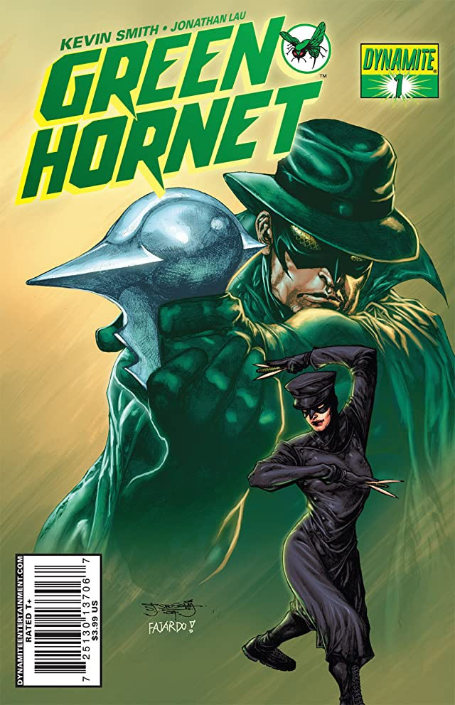 click for super-sized previews of Kevin Smith's Green Hornet #1: Preview