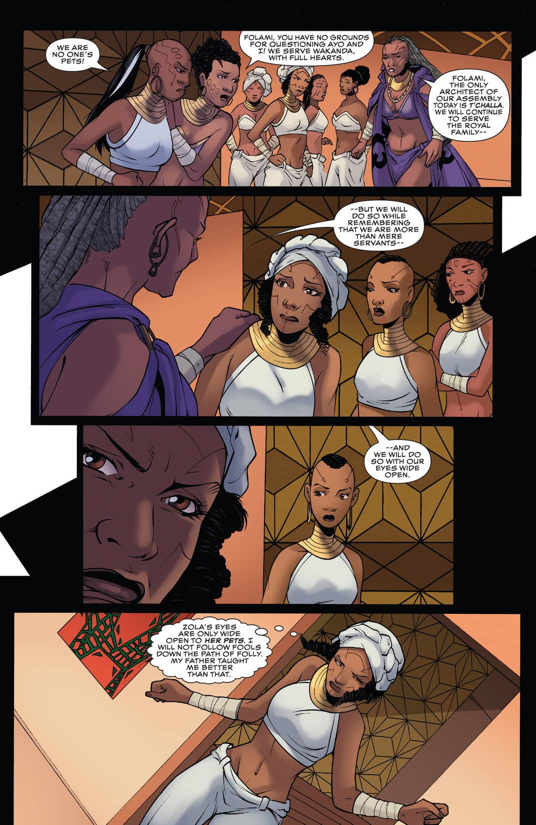 Black Panther: World of Wakanda (2016-) #3