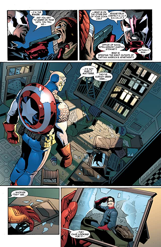 click for super-sized previews of Captain America & the Falcon #5