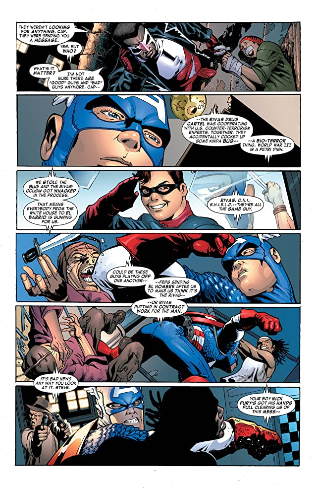 Captain America & the Falcon #5