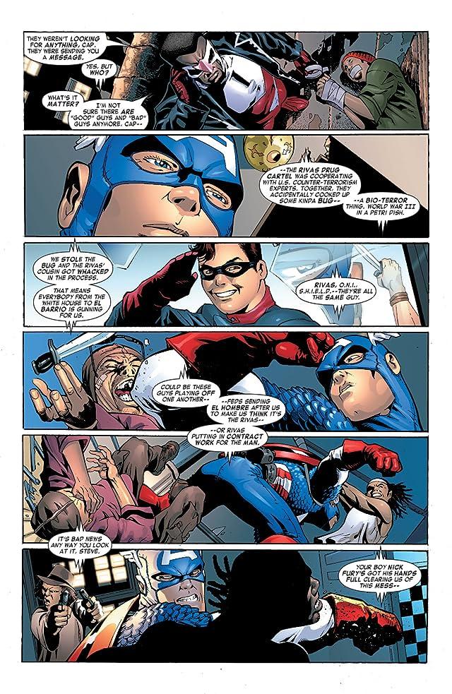 click for super-sized previews of Captain America & the Falcon #5