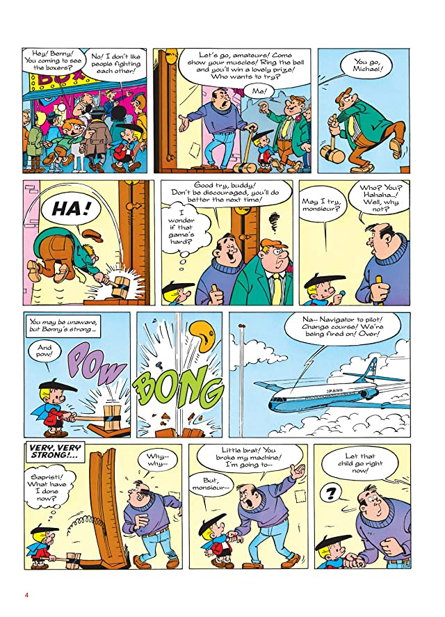 click for super-sized previews of Benny Breakiron Vol. 3: The Twelve Trials of Benny Breakiron