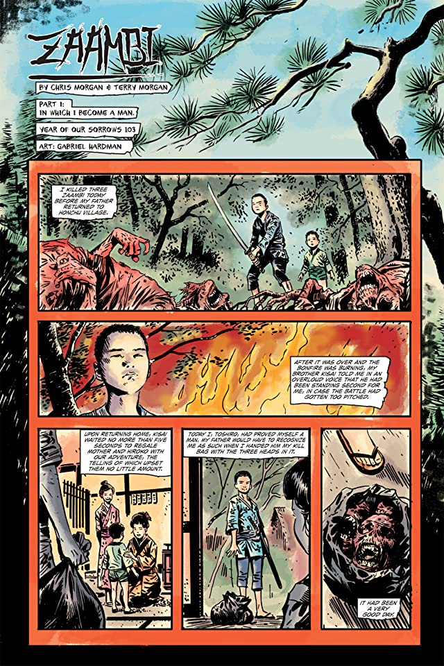 click for super-sized previews of Zombie Tales: The Series #4