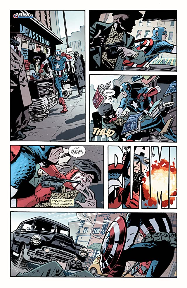 click for super-sized previews of Captain America and Bucky #624