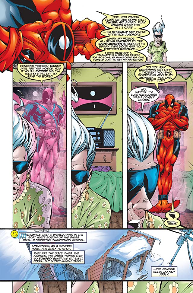 click for super-sized previews of Deadpool (1997-2002) #17