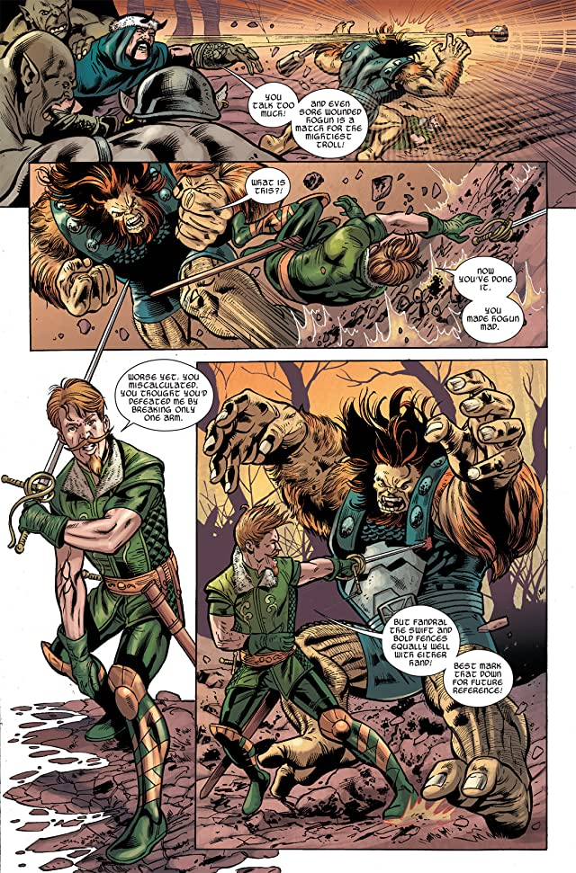 click for super-sized previews of Warriors Three #2